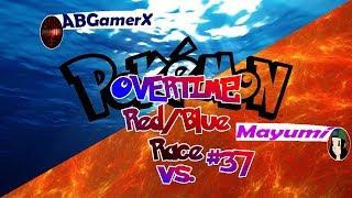 Pokémon Red/Blue Race VS. ABGamerX #37 OVERTIME!