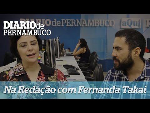 Na Reda��o com Fernanda Takai