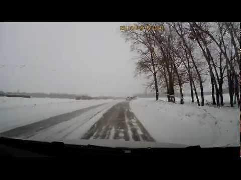 Авария на выезде из Чишмов