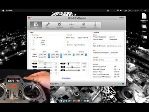 Setting Up Your DJI Drone with Naza Assistant Software   Phantom. Naza Flight Controller