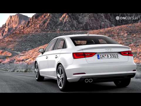 2013 NAIAS: Audi shows off entry-level A3 sedan