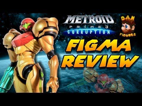 Figma Samus Aran (Metroid Prime 3)   Review   Dan Figures #18