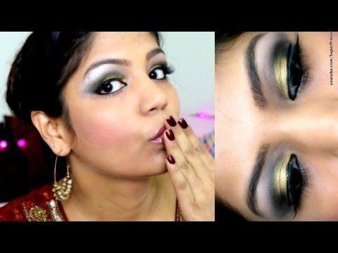 Sexy & Exotic Diwali Makeup Tutorial,Bollywood ,Indian ,Festival, karwachauth,Diwali makeup