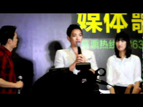 [Rain (Bi) Fancam]110524 'The Best' concert in Shanghai Fan Meeting_By heart_rain2011 [02/03]