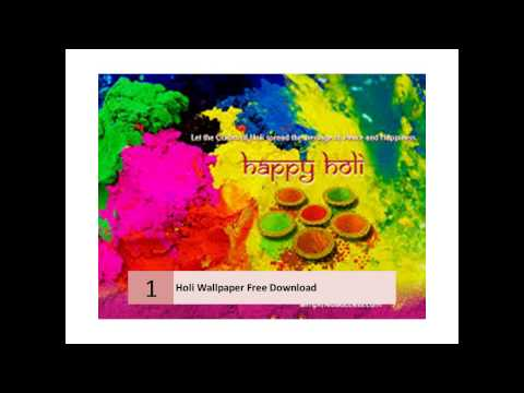 Special Holi Wallpaper Free Download For Desktop video