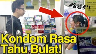 Prank Indomaret Alfamart 2! Beli Kondom Rasa Tahu Bulat!!