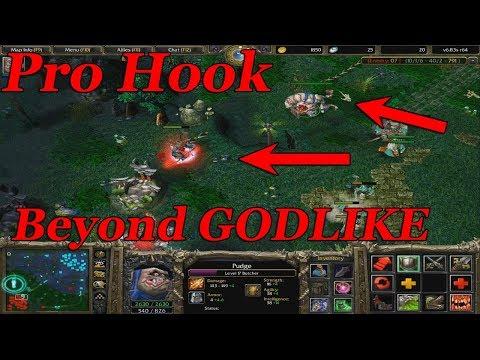 DOTA 1 - Pudge PRO HOOK + BEYOND GODLIKE GAMEPLAY