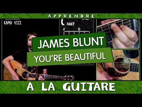 Apprendre You're Beautiful de James Blunt à la guitare