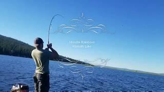 Monster Rainbow Trout Klamath Lake Oregon Summer 2018