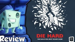 Die Hard: The Nakatomi Heist Board Game Review - with Tom Vasel