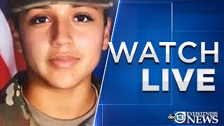 LIVE: Demand for Army to support independent investigation into Vanessa Guillen's murder