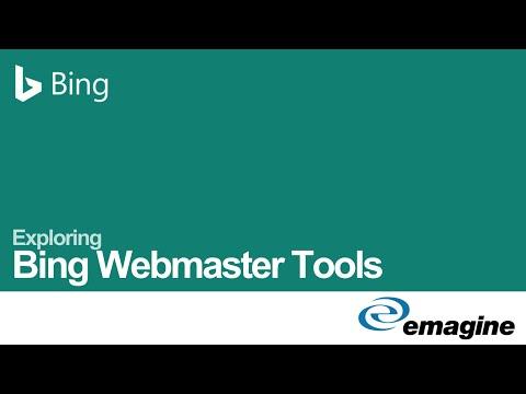 Exploring Bing Webmaster Tools