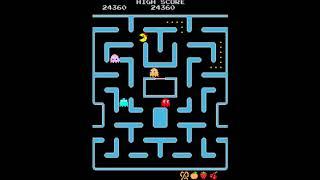 Ms. Pac-Man / Galaga: Class of 1981 (Arcade) Gameplay [60FPS]