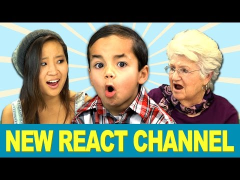 NEW REACT CHANNEL!!!