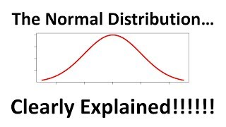 StatQuest: The Normal Distribution, Clearly Explained!!!