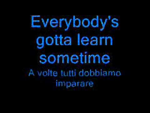 Beck - Everybody's gotta learn sometimes [TESTO ...