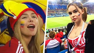 10 FUNNIEST AND MOST BEAUTIFUL FANS IN SPORTS