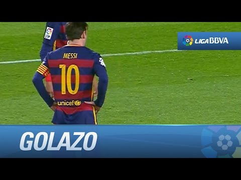 Golazo de Messi (1-1) FC Barcelona - Sevilla FC