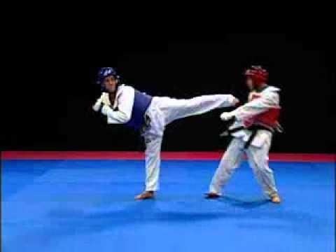 Taekwondo - Patada Yop Chagui