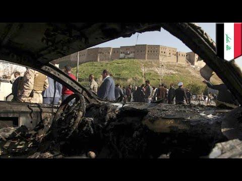 Iraq car bomb: driver detonates car at governor's compound in Kurdish capital Erbil, kills 4