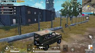 Funny game play with a Hacker PUBG