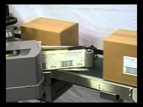 Box Label Applicator