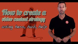 How to create a video content strategy using Hero, Hub, Help