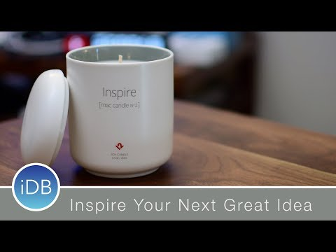 Twelve South Inspire Mac Candle Nº2 Hopes to Conjure Your Next Great Idea