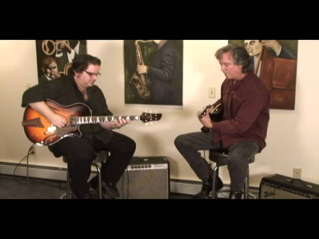 The Improv - And A Half - CP Thornton Guitars - Steve Lynnworth &amp; Andy Argondizza