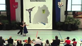 Sandra Waldhauser & Florian Demmig - LM Baden-Württemberg & Hessen 2015