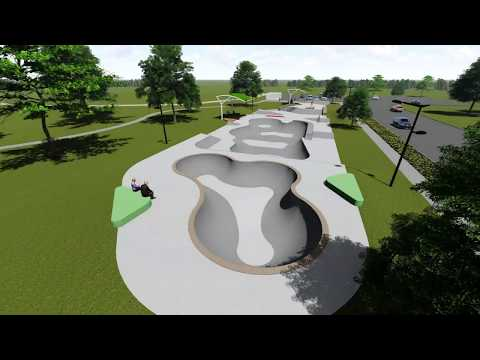 Greeley Community Skateparks - 3D Concept Preview