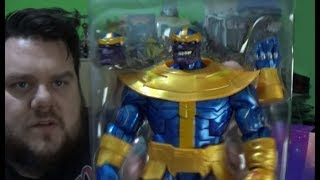 Thanos Marvel Legends Walmart Exclusive Hasbro Action Figure Review