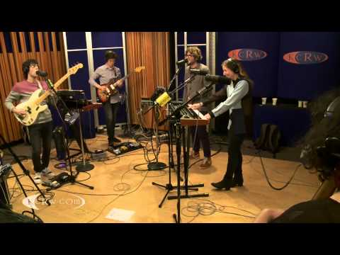 "Ra Ra Riot performing ""Dance With Me"" Live on KCRW"