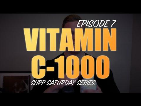 VITAMIN C-1000 COMPLEX | EPISODE #7 SUPPLEMENT SATURDAY