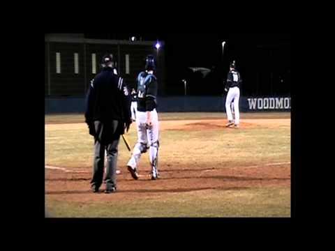 Zack Bennett RHP Woodmont High School (Woodmont vs Easley)