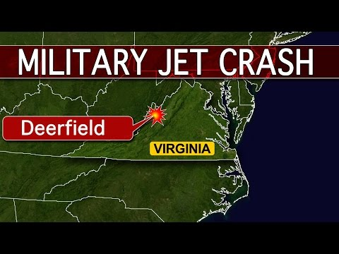 US F 15 Military Jet Crashes In Virginia - Mass.-Based Fighter Jet Crashes in Virginia