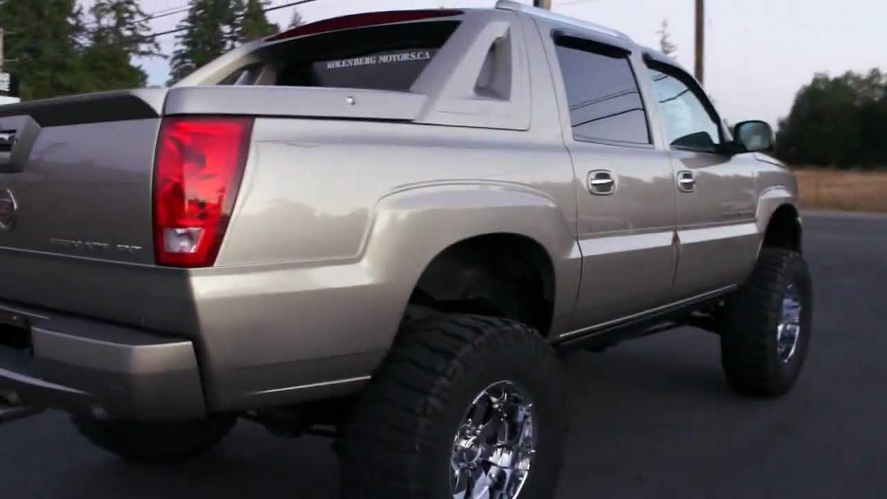 2002 Cadillac Escalade Ext Lifted 4wd At Kolenberg Motors