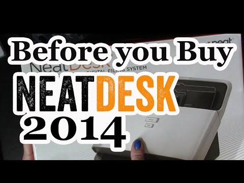 NeatDesk Scanner Review 2014 - What you should know.