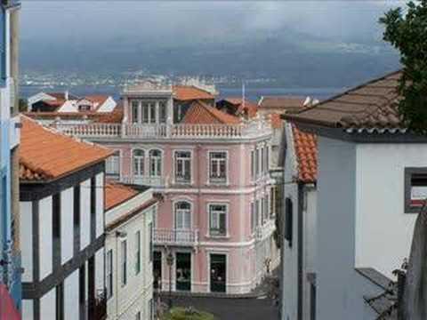 A�ores �le de Faial, ville d'Horta.