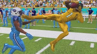 Madden 17 Career Mode WR S2 Ep 19 - KICK TO THE FACE DIVING CATCH IN FIRST GAME WITH JAGUARS!
