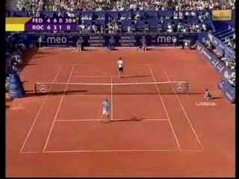 Play of The Week, Olivier Rochus, 24.04.08 Video