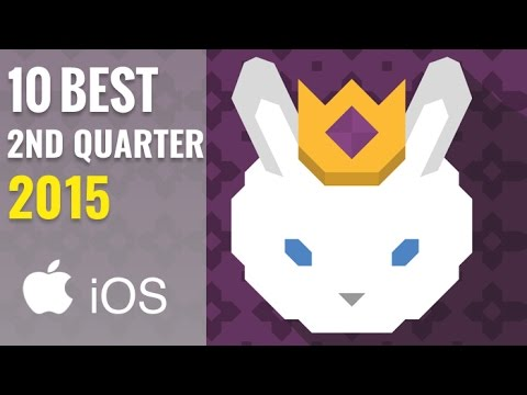 10 Best NEW iPhone/iPad Games of April, May & June 2015 (Q2) HD