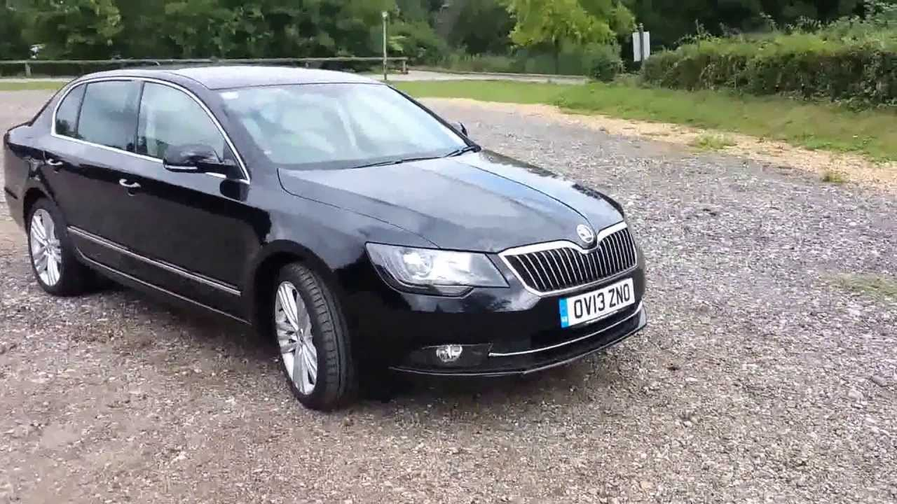 skoda superb elegance 2014 youtube. Black Bedroom Furniture Sets. Home Design Ideas