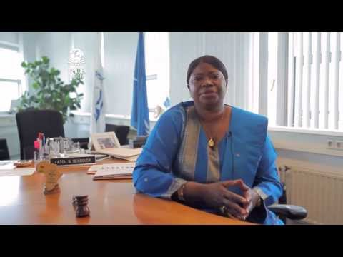 Fatou Bensouda, Chief Prosecutor of the International Criminal Court