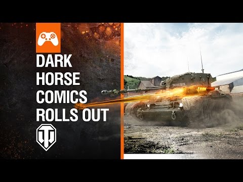 World Of Tanks Console - Dark Horse Comics Rolls Out