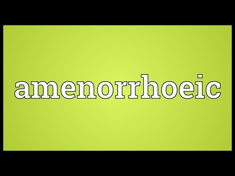 Header of Amenorrhoeic