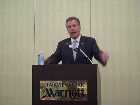 Terry McAuliffe at NOVA Dem. Business Council Meeting (Part 1) Video