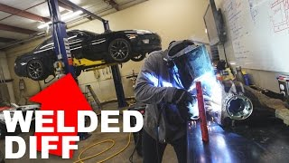 WE WELDED MY DIFF!