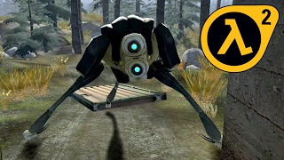 Taming the HUNTER! ★ Cool Half-Life 2 MOD ★ MAMH from LiberationVille