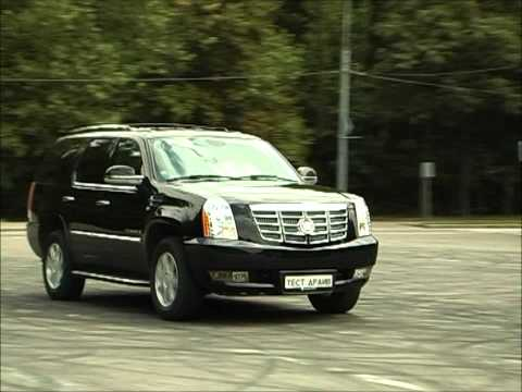 Тест-драйв Cadillac Escalade